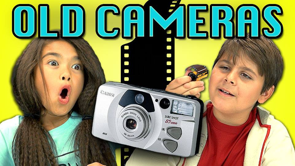 Kids React: Old Cameras
