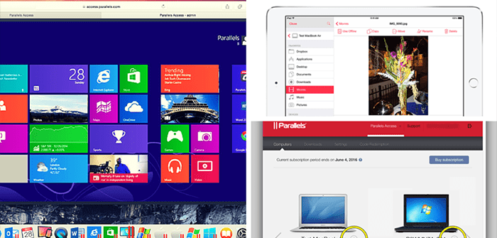 Hello, Parallels Access 2.5
