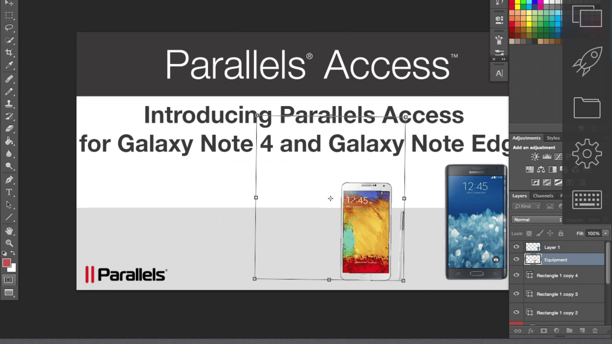 Parallels Access On the Go