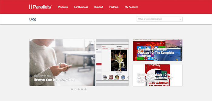 We Completely Redesigned the Parallels Blog! Here's Why