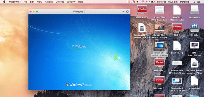 Setting Windows to Start Automatically With Mac OS X