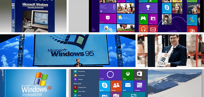 From Windows 1 to Windows 10 in 30 Years