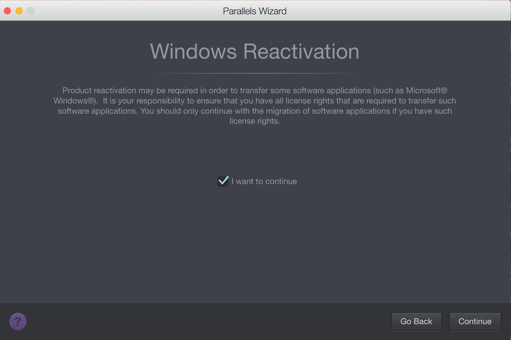 Migrating Windows
