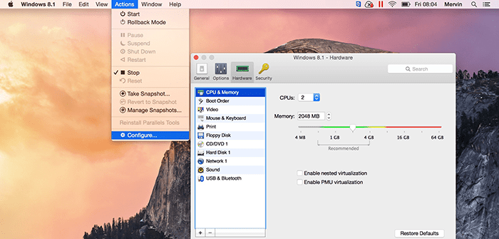 Virtual Machine Performance Myths in Parallels Desktop