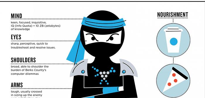 Anatomy of a PC Ninja (Infographic)