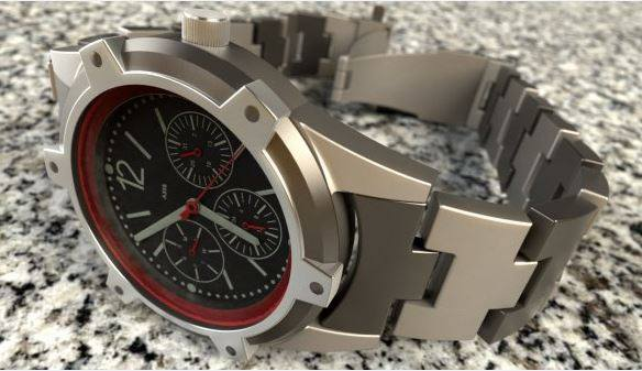 Check out this 3-D rendering of a watch by Jon Ellison, done in SolidWorks using Parallels Desktop.