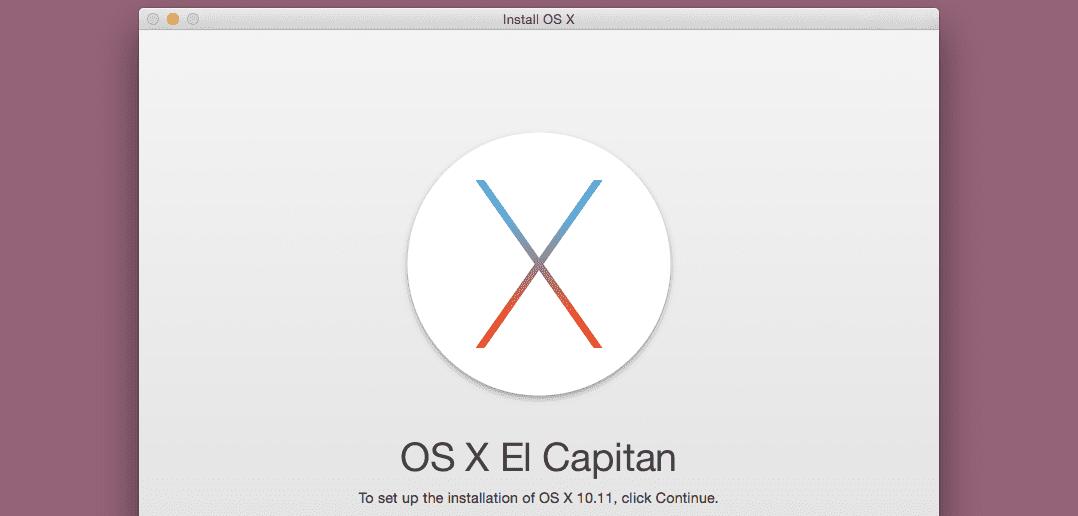 Installing El Capitan in Parallels Desktop 11