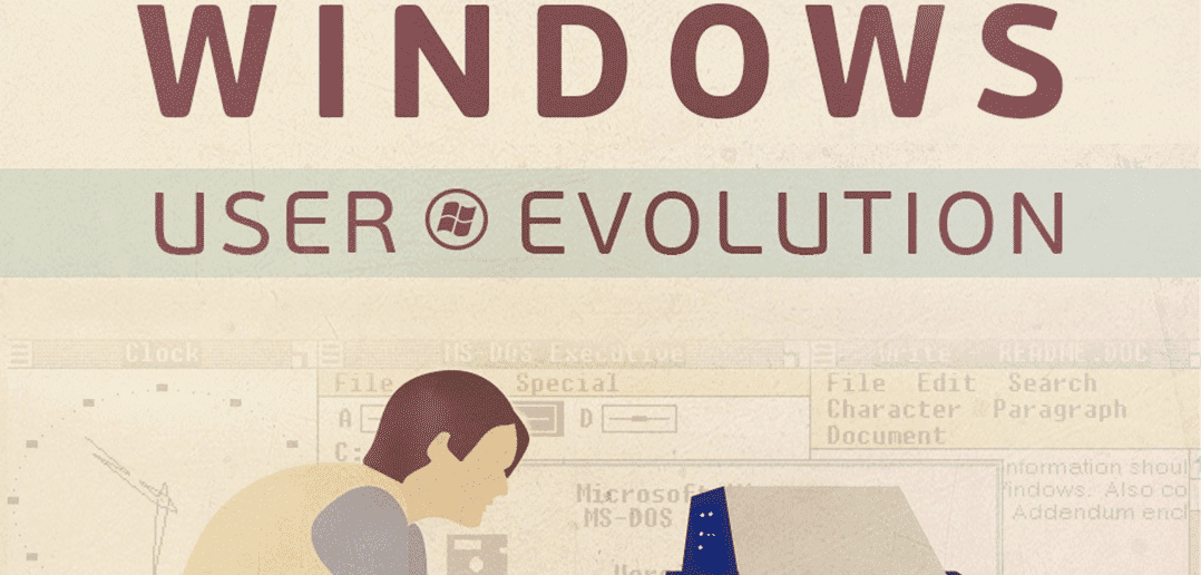 The Evolution of Windows Users (Infographic)