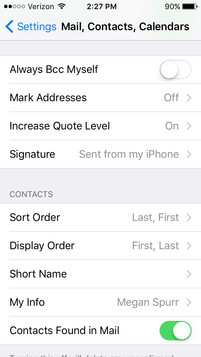 How to Update Your iPhone or Android Email Signature