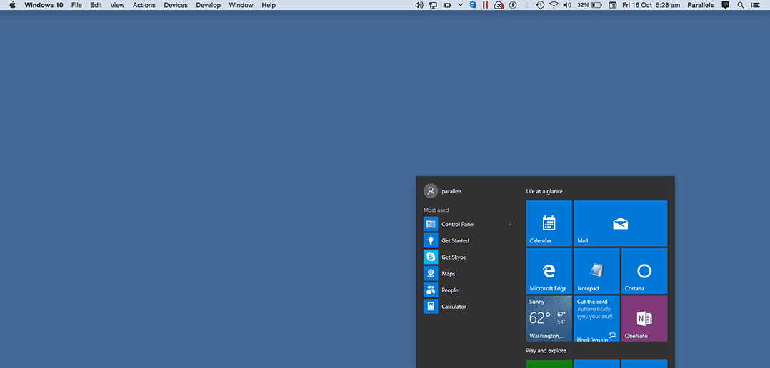 4 Quick Ways to Access the Windows Start Menu in Coherence Mode