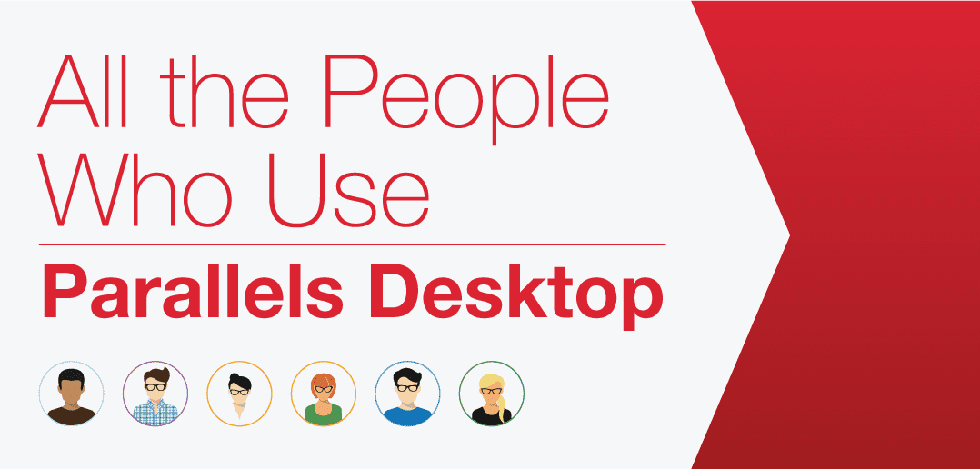 All the People Who Use Parallels Desktop (Infographic)