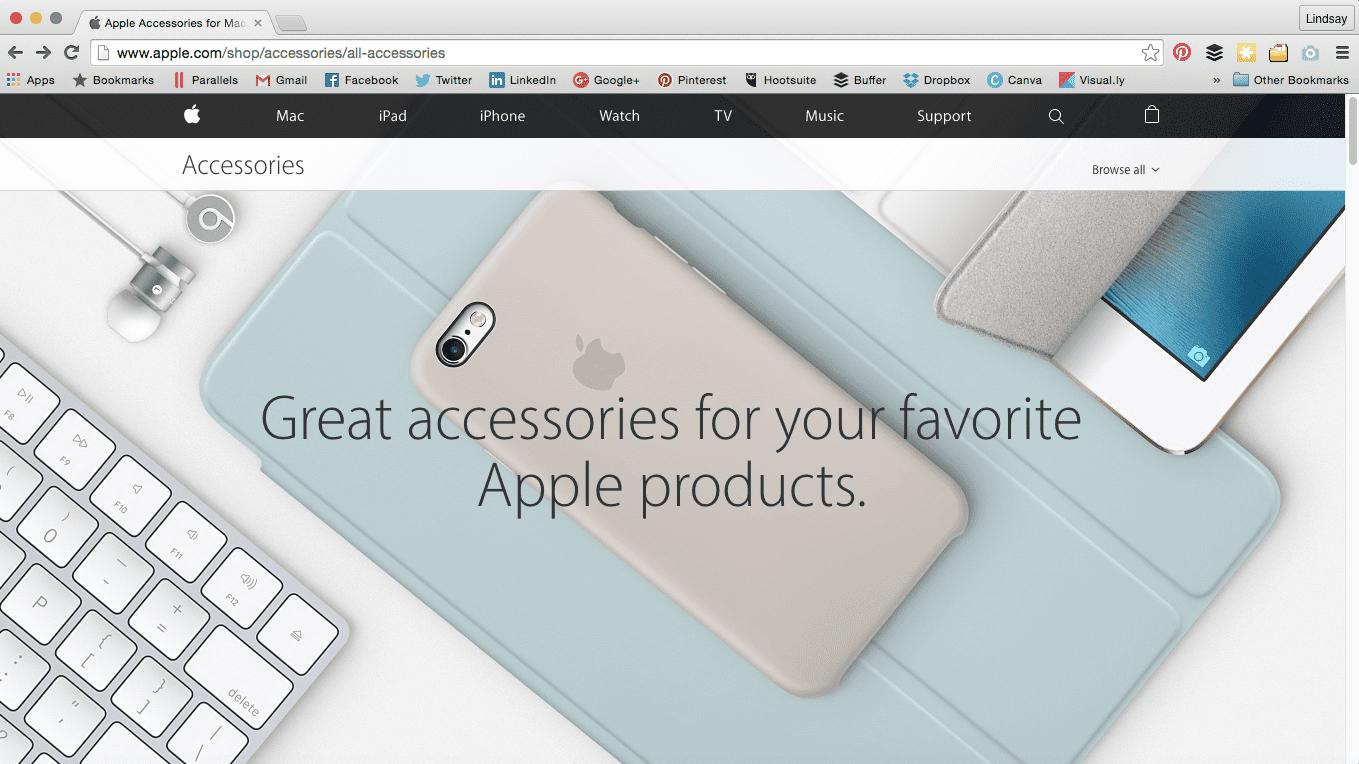 iPhone accessories Apple