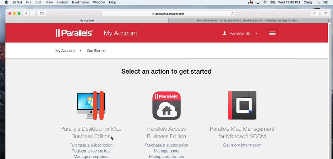 Watch How to Manage Licenses of Parallels Desktop Business Edition
