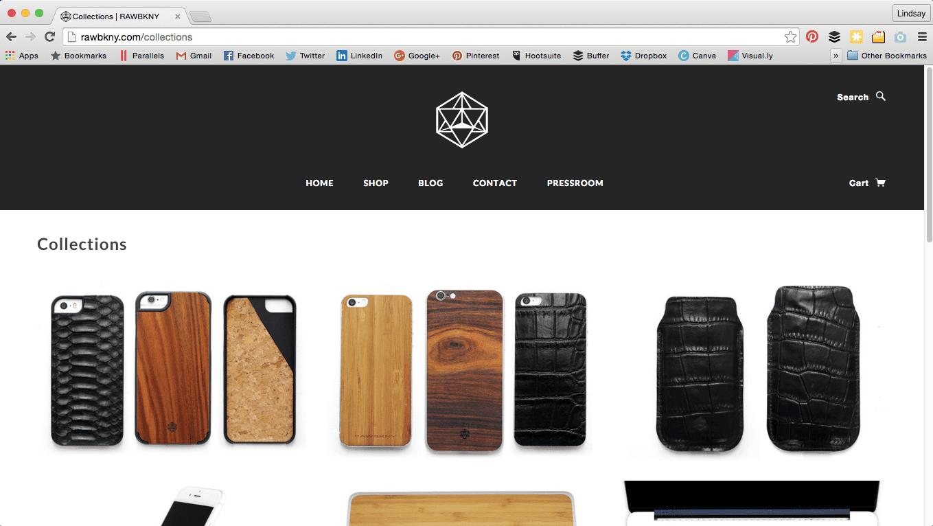 iPhone accessories RAWBKNY