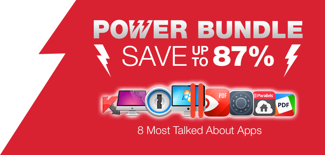 Parallels Desktop for Mac Power Bundle!