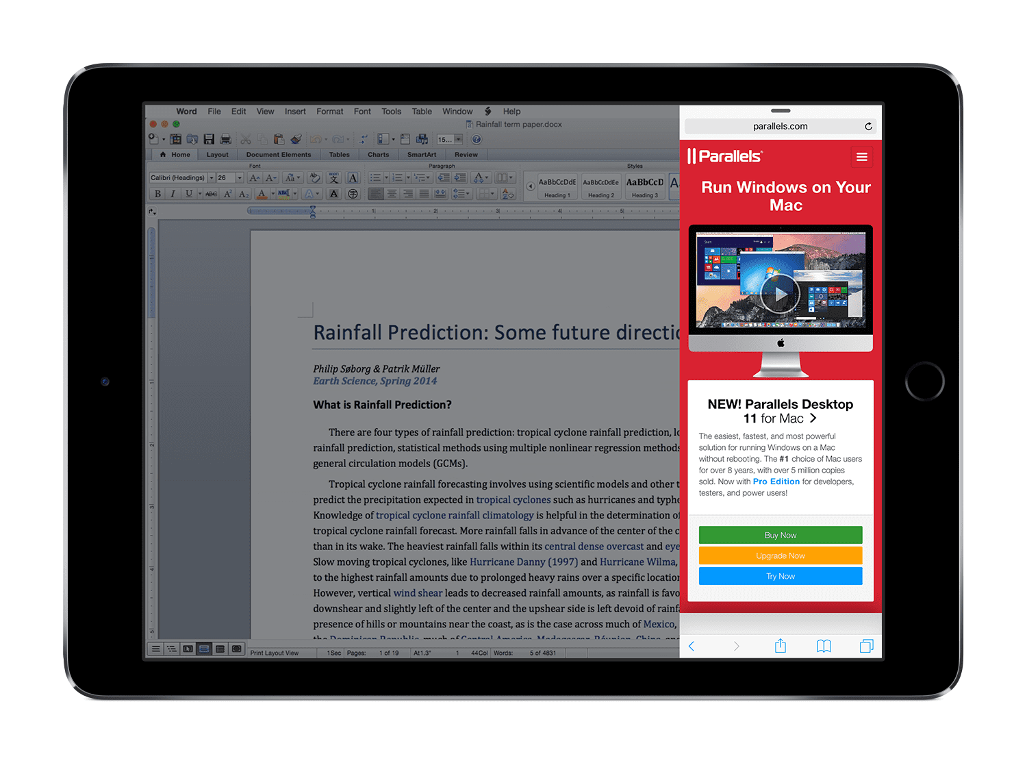 Parallels Access 3 1: Support for iPad Pro - Parallels Blog