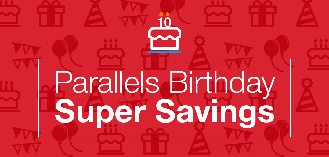 Parallels Desktop for Mac is officially 10 years old!