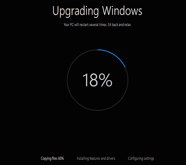 Upgrade Windows 7 to Windows 10 in Parallels