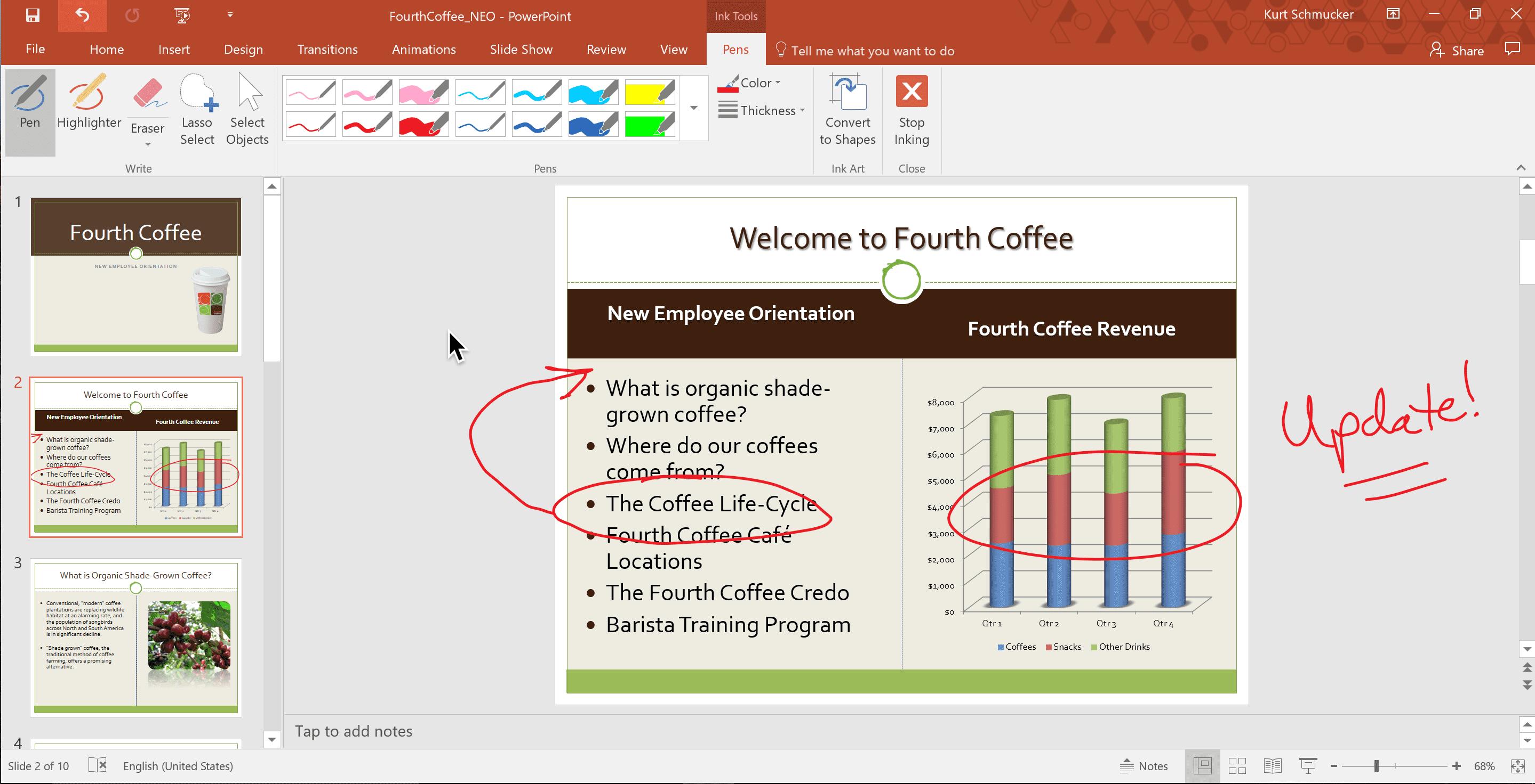 Microsoft Ink on the Mac