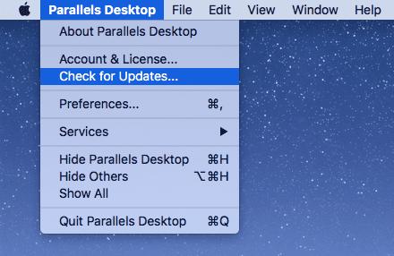 HotFix Parallels Desktop for Mac 12