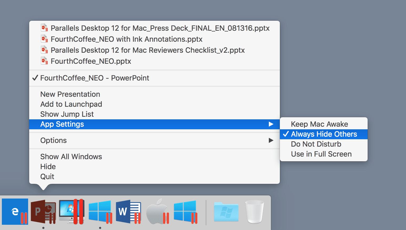 Performance Improvements in Parallels Desktop 12