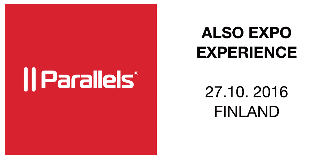 Meet the Parallels team at ALSO Expo 2016
