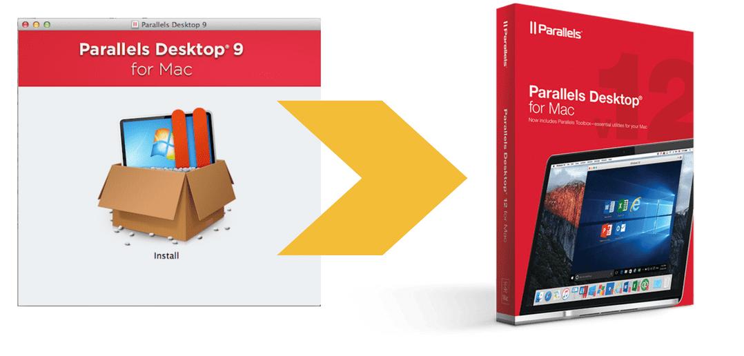 How to upgrade Parallels Desktop 9 or earlier versions to Parallels Desktop 12