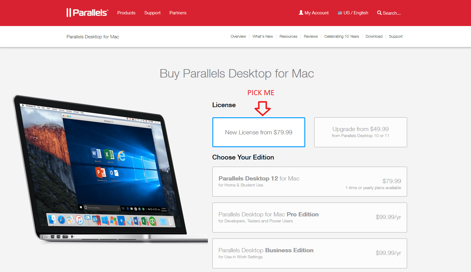 How to upgrade Parallels Desktop 9 to Parallels Desktop 12