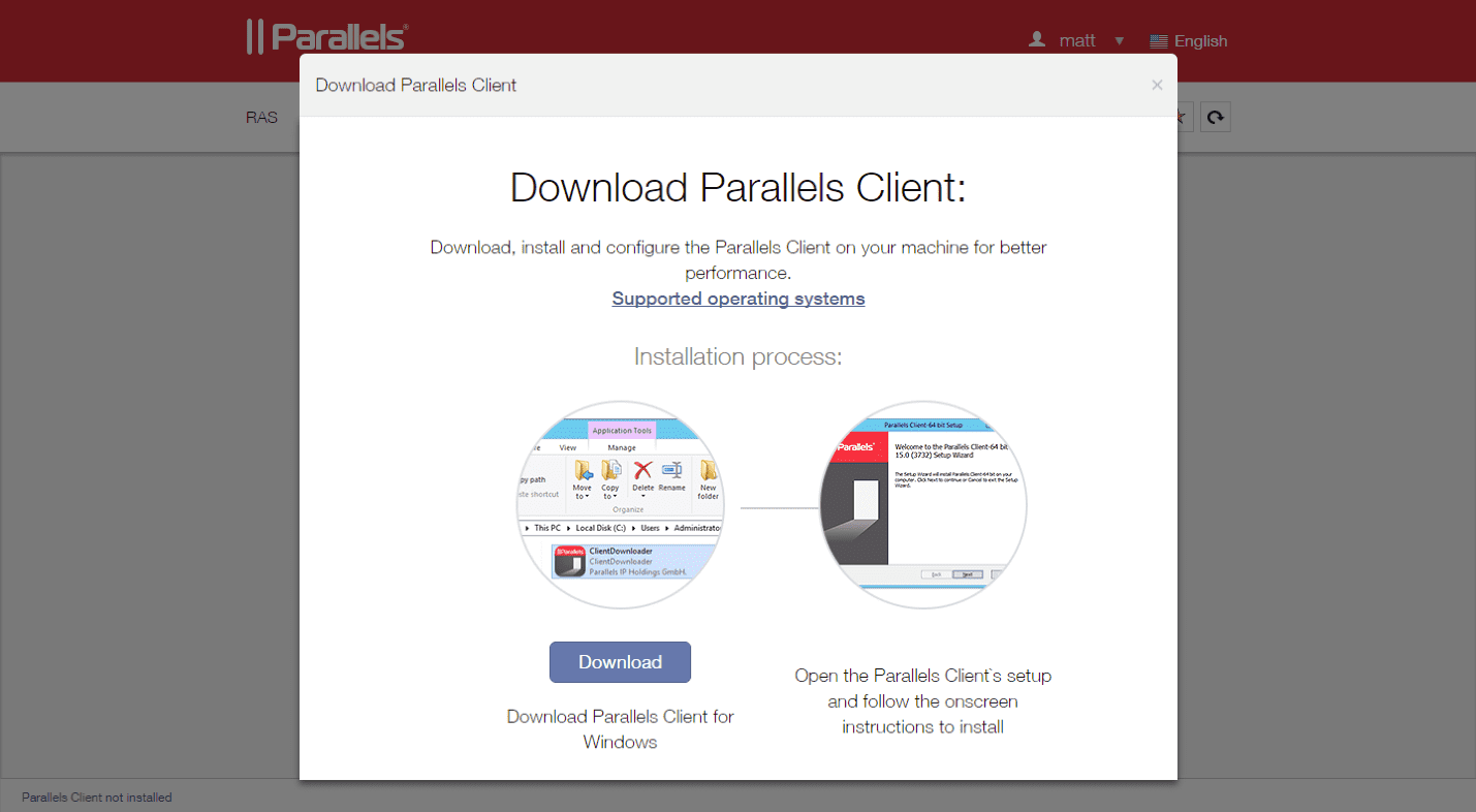 How to Use the Parallels HTML5 Client - Parallels Remote