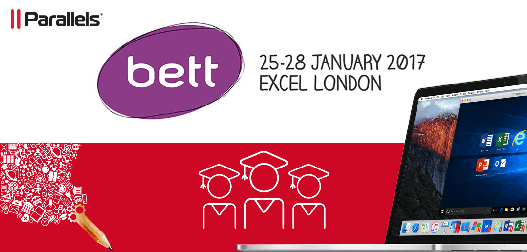 Parallels with Douglas Stewart EDU at Bett Show in London
