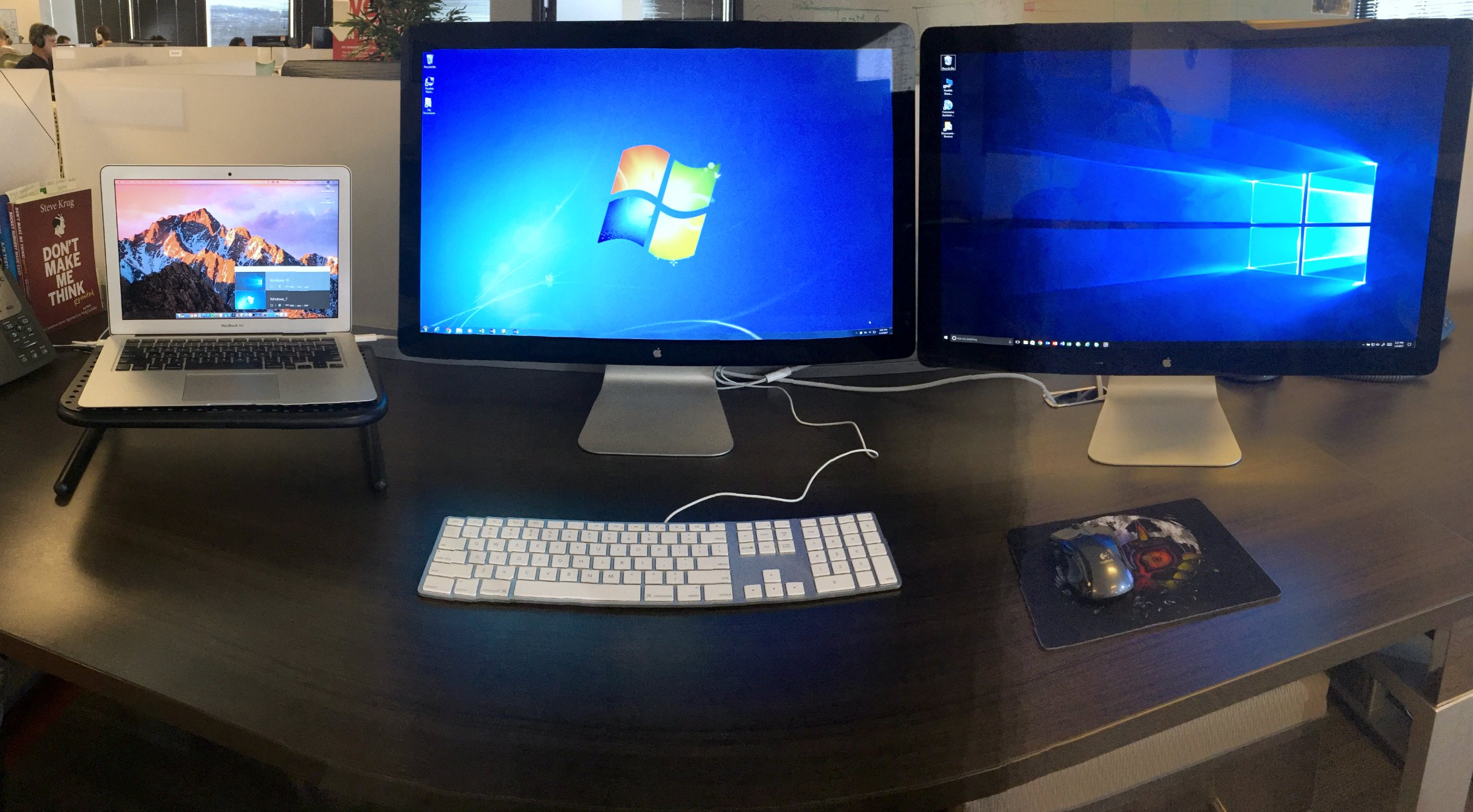 Use External Monitors Full Screen with Parallels Desktop for