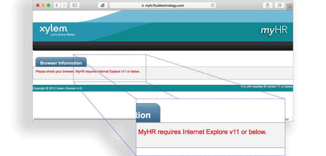 Comparing Parallels Desktop to Boot Camp: Opening a web page in IE