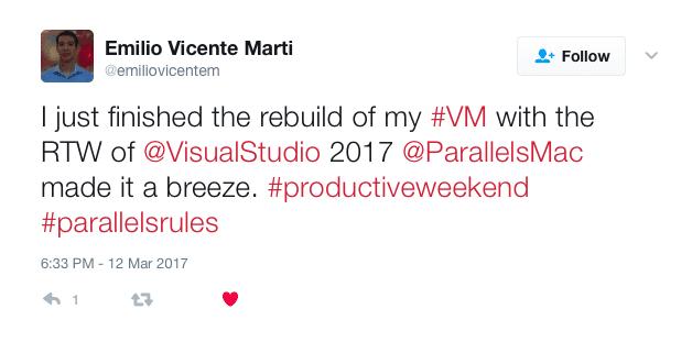 Visual studio customer