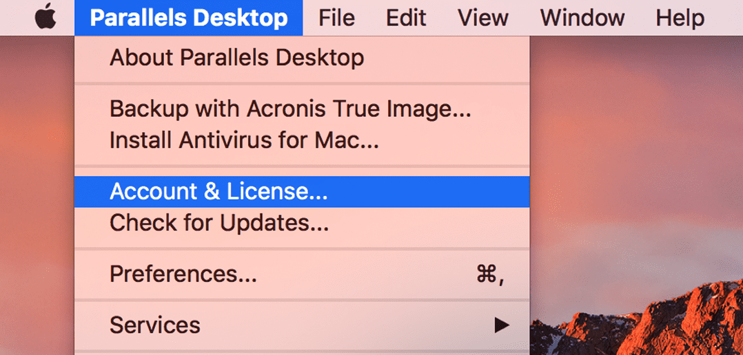 How to Upgrade a Standard Parallels Desktop License to Pro Edition