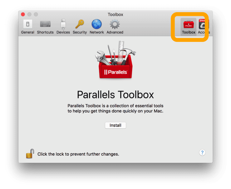 Stand alone Parallels Tools