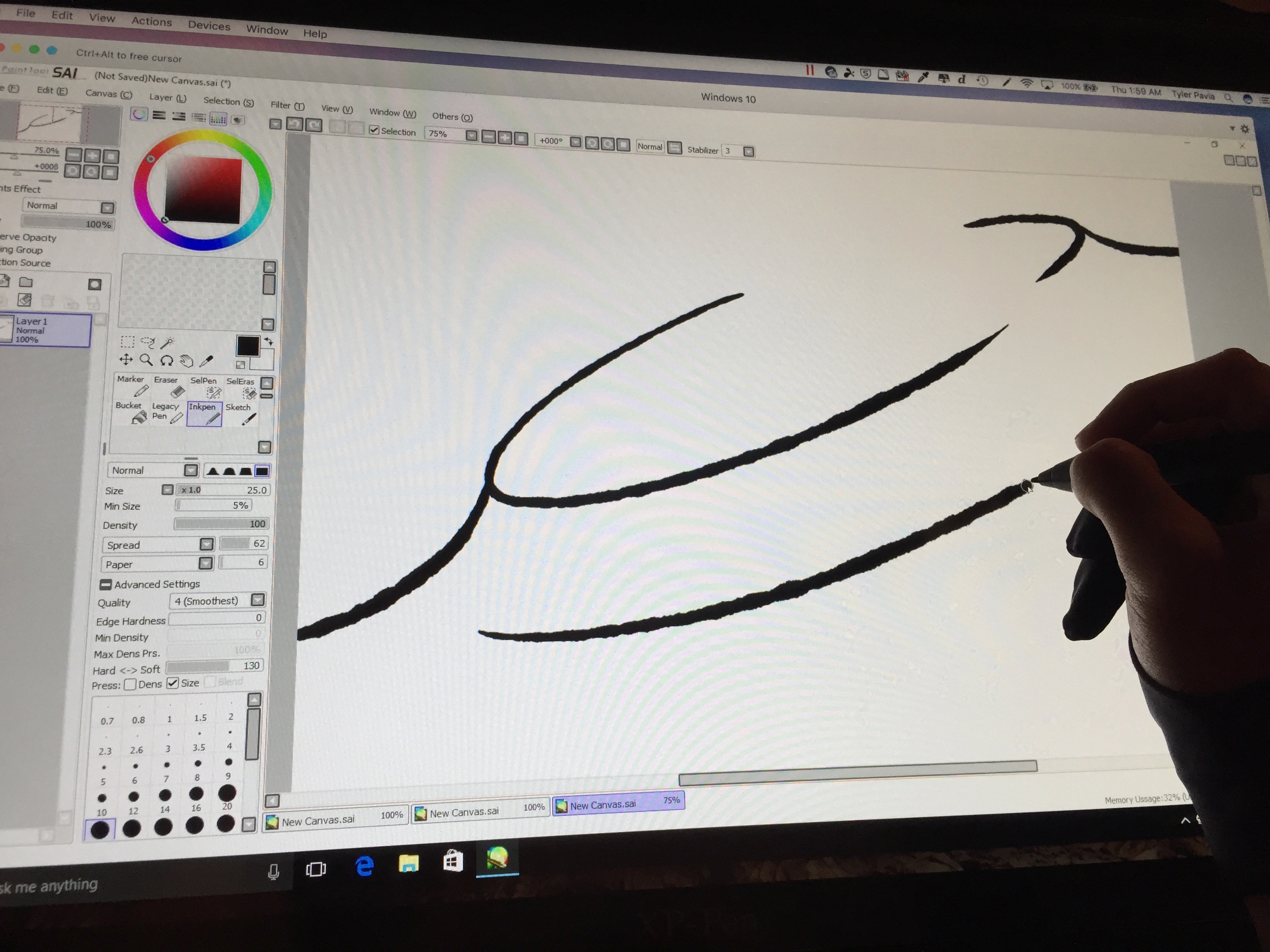 paint tool sai free download full version english no trial