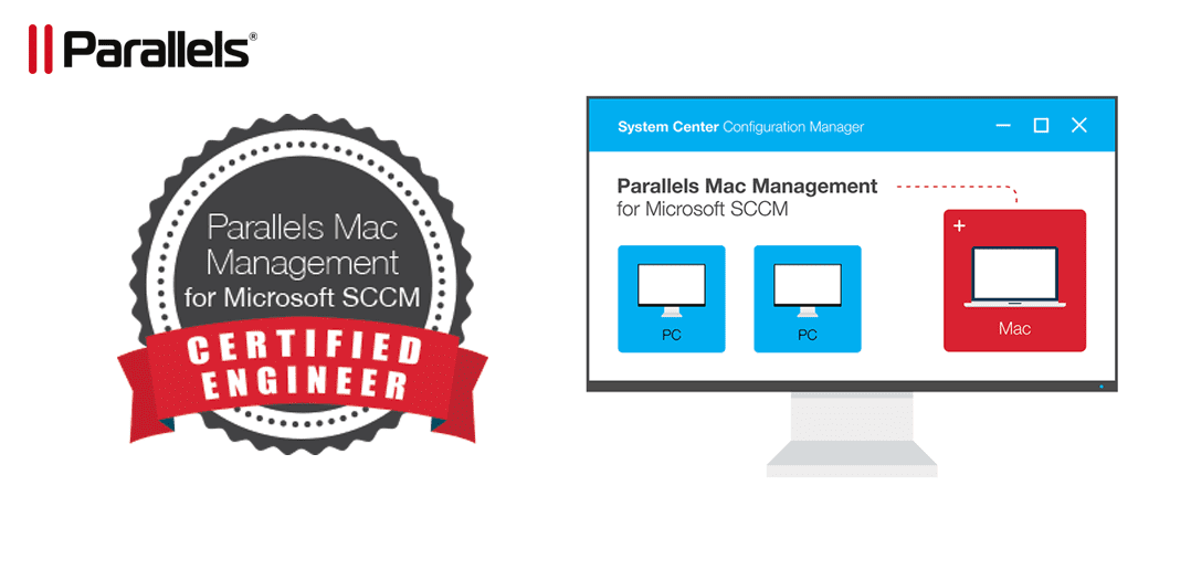 Outstanding opportunity to receive free Parallels Mac Management certification