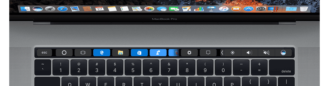 Advanced Touch Bar Customization with Parallels Desktop