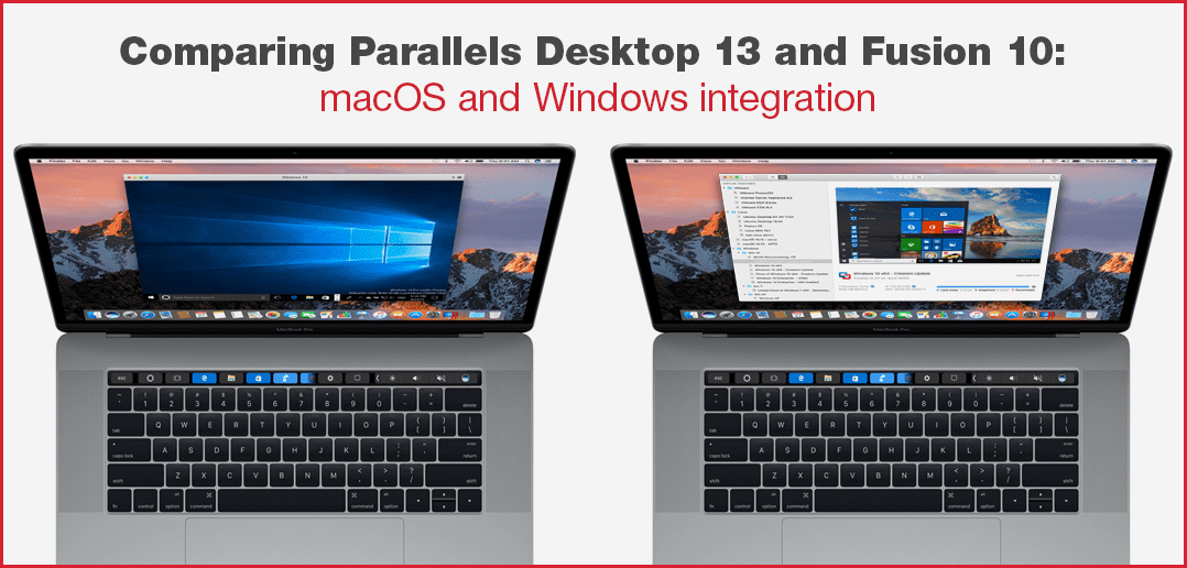 Comparing Parallels Desktop 13 and Fusion 10: macOS and Windows Integration