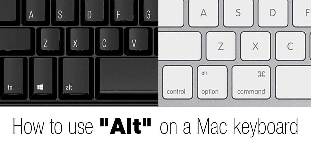 Alt Key on Mac: How to use Option and Command keys for
