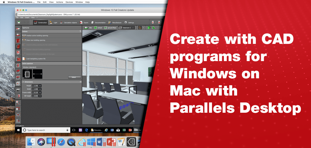 Run CAD Programs for Windows on Mac
