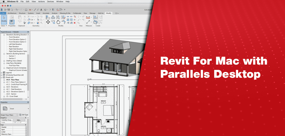 Revit for Mac with Parallels Desktop