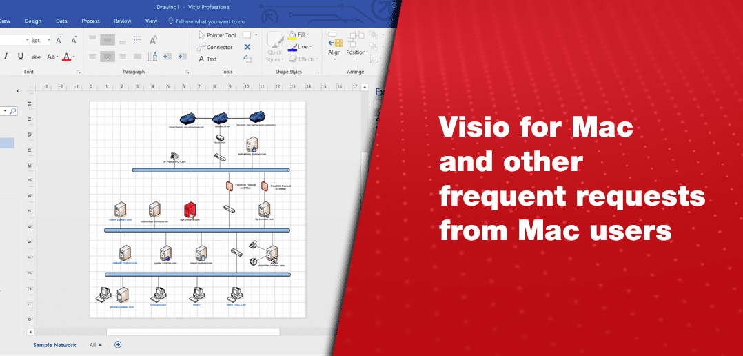 Visio for Mac and Other Frequent Requests from Mac Users