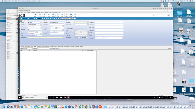 Run Act! CRM on Mac with Parallels Desktop - Parallels Blog