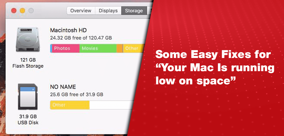 "Some Easy Fixes for ""Your Mac is Running Low on Space"""