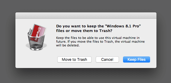 Removing VM