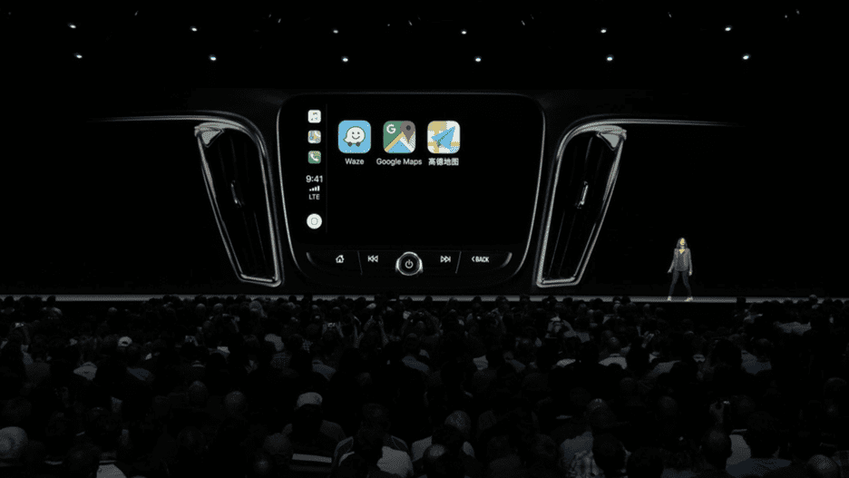 CarPlay iOS12