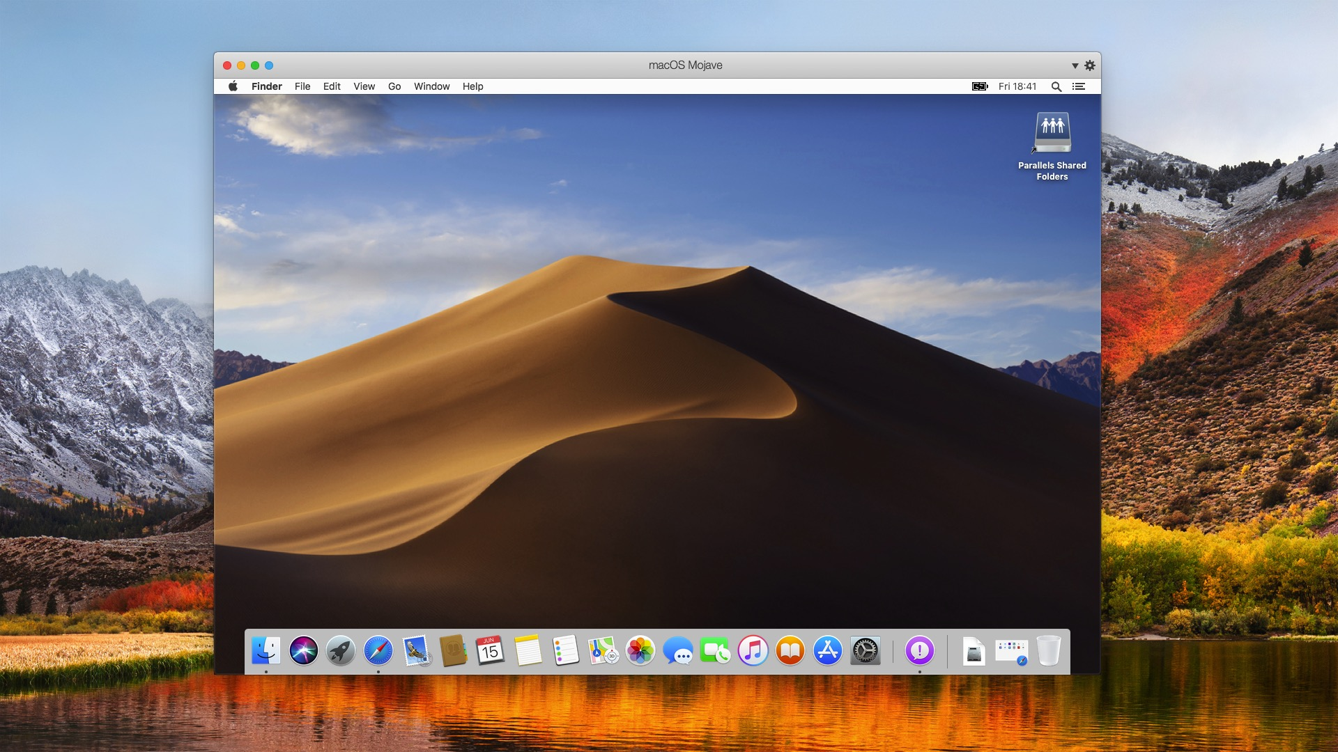 Running macOS Mojave in a virtual machine