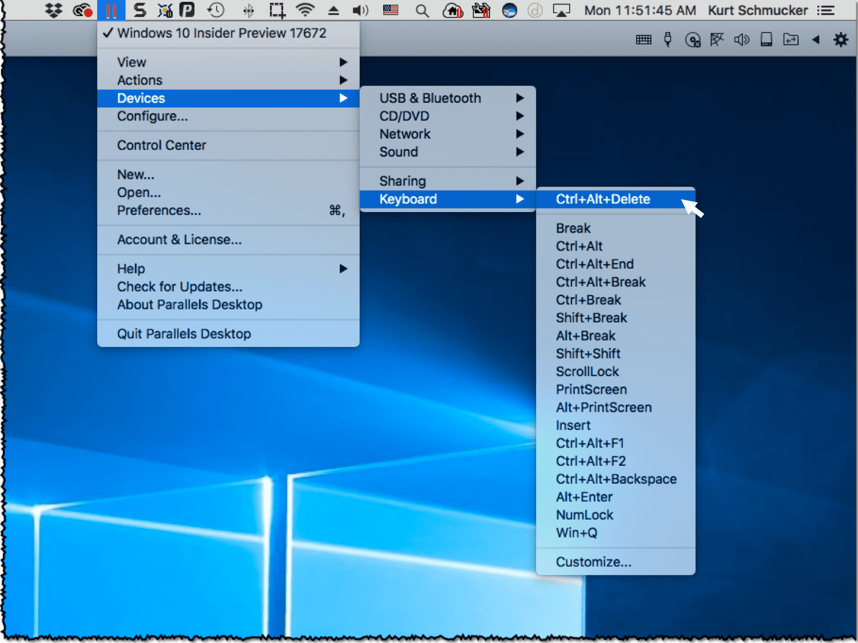 Insert key mac remote desktop | 24 Shortcuts for Windows