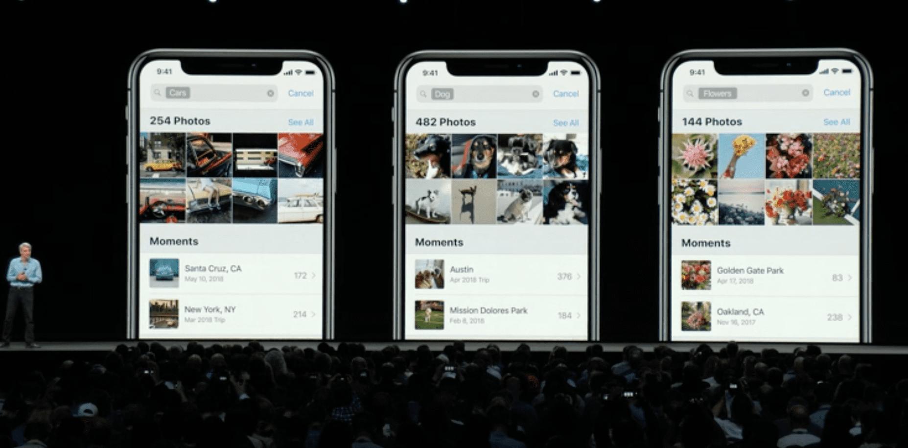 iOS Search Photos